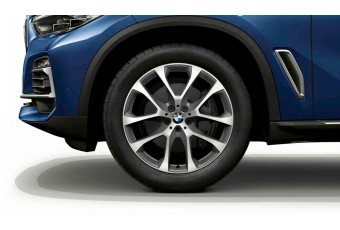 Легкосплавний диск колеса BMW Grey Machined 738 20'