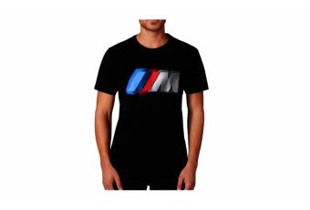 Футболка BMW M чорна, чоловіча