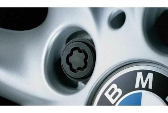 Комплект оригінальних секретних болтів BMW M12 x 1,5 мм