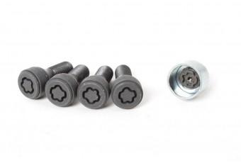 Комплект оригінальних секреток BMW Wheel Lock Set M14x1,25 мм