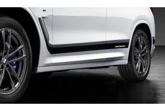 Декорітівний елементи Frozen Black (зліва / справа) M Performance для BMW X3 G08