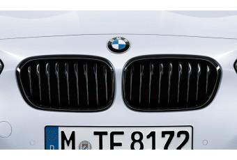 Передня решітка BMW M Performance для 1-шої серії (F20/F21), чорна