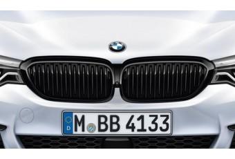 Решетка радиатора M Performance для BMW 5-ї серії (G30/G31/G38), чорна