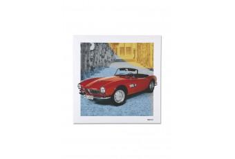 Подушка BMW CLASSIC із зображенням автомобіля BMW 507