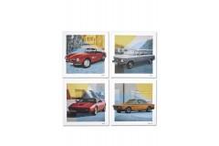 Комплект картин на полотні BMW CLASSIC