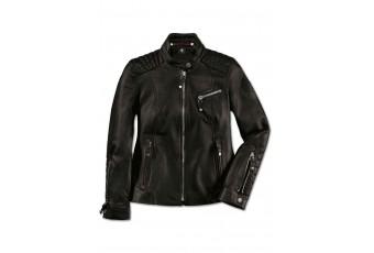 Жіноча шкіряна куртка BMW