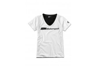 Жіноча футболка з логотипом BMW M MOTORSPORT