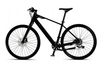 Міський гібридний E-Bike BMW матовий чорний