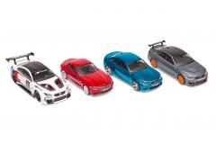 Колекція спорткарів BMW: BMW M6 GT3, BMW M4 GTS, BMW M2, BMW Z4 1:64