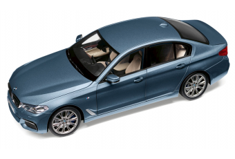 BMW 5-series (G30), Bluestone Metallic 1:18
