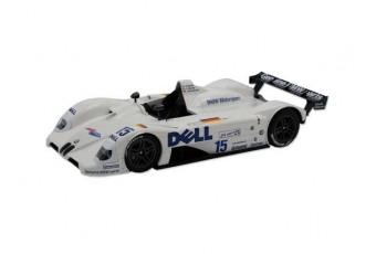 Модель гоночного автомобіля BMW V12 LMR 1:18, біла