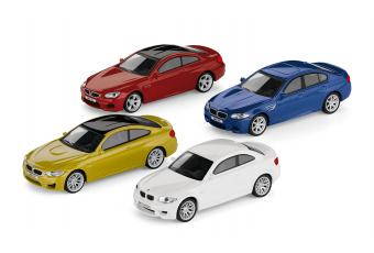 Набір автомобілів BMW M 1:64, колекційний