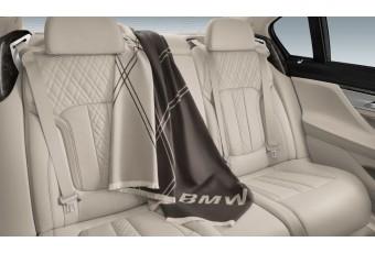 Вовняний плед BMW Travel Blanket, коричневий / бежевий