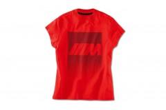 Футболка BMW M червона, жіноча