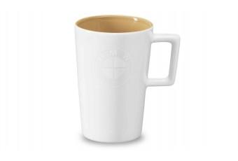 Чашка біло-золота