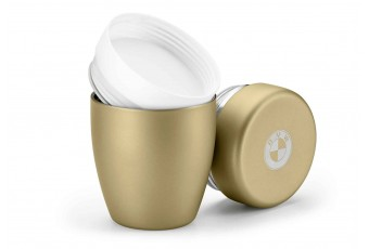 Термос компактний 550 мл, золотистий