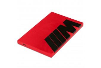 Блокнот BMW M, червоний