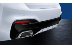 Задній дифузор BMW M Performance, матовий чорний