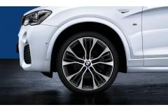 """21"""" легкосплавні диски M Performance 599M - Bicolor - з подвійними спицями та шинами Runflat X5 / X6 (F15 / F16)"""