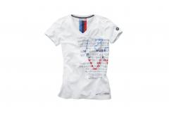 Жіноча футболка BMW Motorsport з графічним малюнком